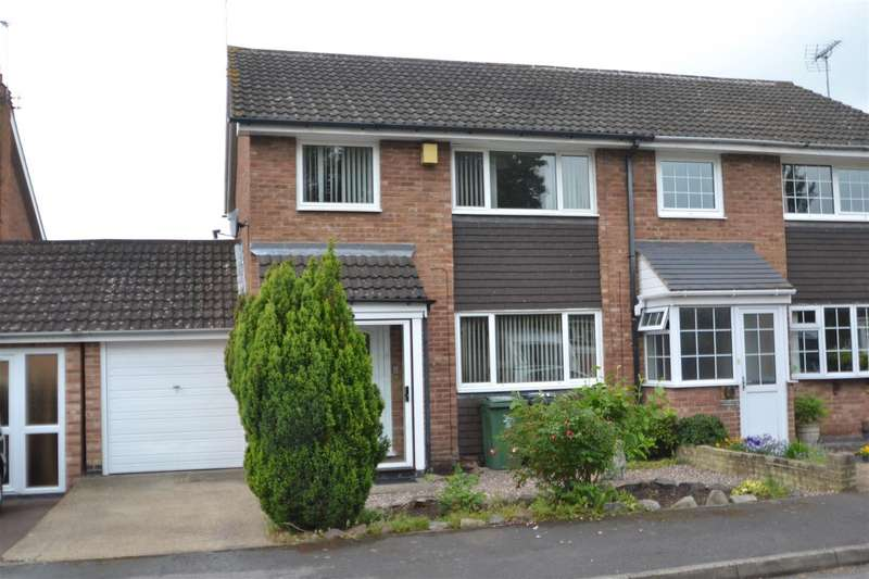 3 Bedrooms Semi Detached House for sale in Wilmington Court, Loughborough