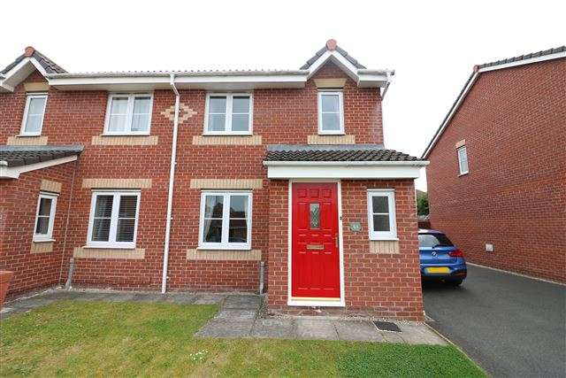 3 Bedrooms Semi Detached House for sale in Watermans Walk, Carlisle, Cumbria, CA1 3TJ