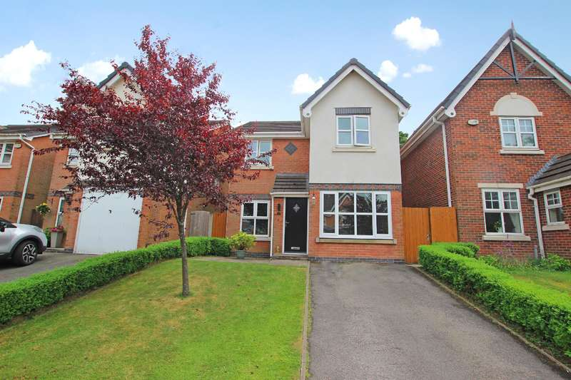 3 Bedrooms Detached House for sale in Kingsley Close Blackburn BB2 5FB