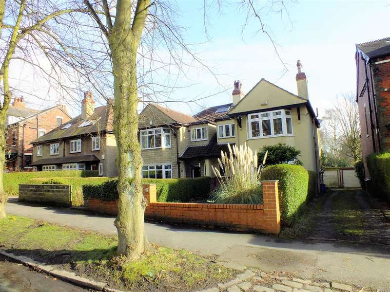 4 Bedrooms Semi Detached House for sale in Shaftesbury Avenue, Roundhay, Leeds, LS8 1DR