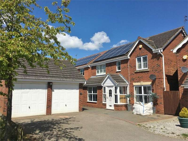 4 Bedrooms Detached House for sale in Buttercup Close, Corby, Northamptonshire