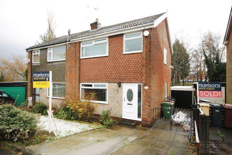 3 Bedrooms Semi Detached House for sale in Girvan Close, Morris Green, Bolton, Lancashire.