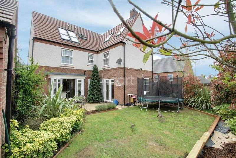 6 Bedrooms Detached House for sale in Birch Lane, Glenfield, Leicester
