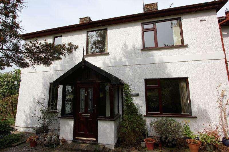 2 Bedrooms Semi Detached House for sale in Hen Lon, Denbigh