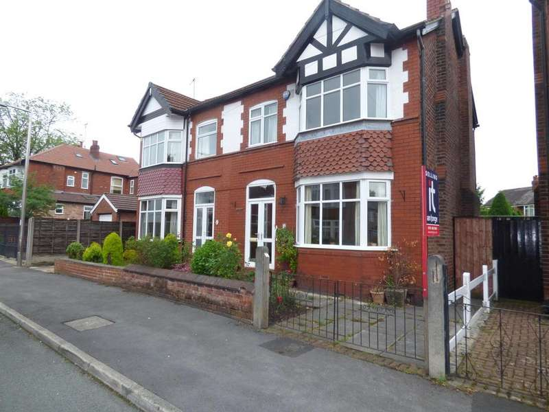 3 Bedrooms Semi Detached House for sale in Katherine Road, Great Moor, Stockport, SK2 7QA