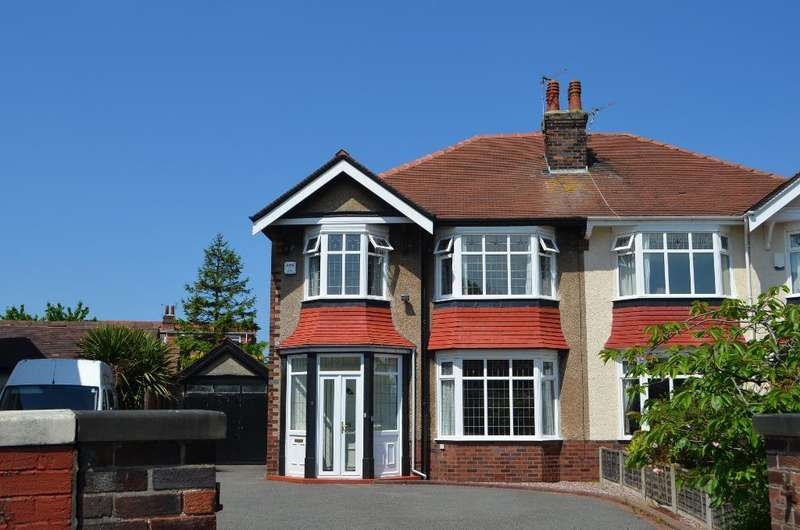 4 Bedrooms Semi Detached House for sale in Blundell Crescent, Birkdale, Southport, PR8 4RF