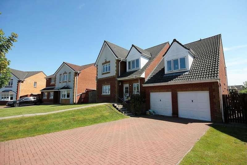 5 Bedrooms Detached House for sale in 18 Langshaw Court, Stewarton, KILMARNOCK, KA3 3JD