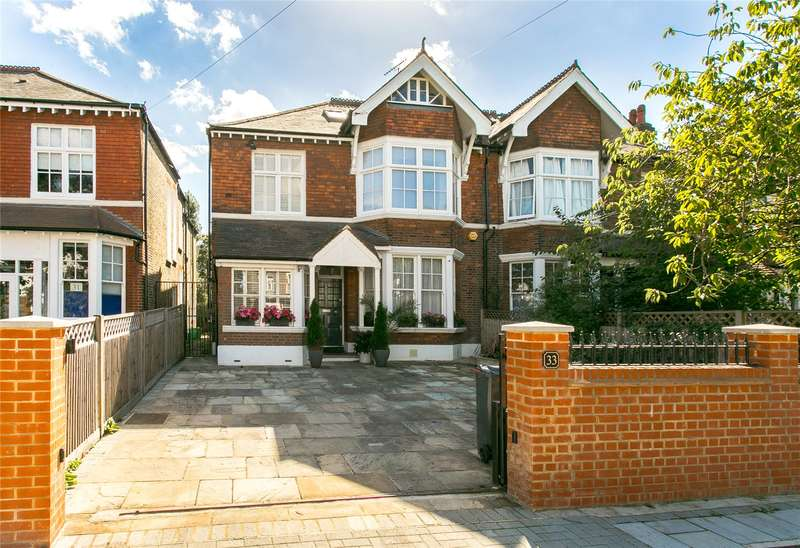 4 Bedrooms Semi Detached House for sale in Rodenhurst Road, London, SW4