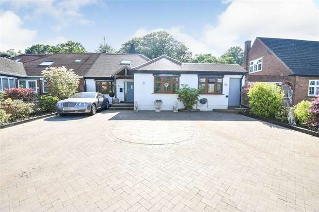 3 Bedrooms Semi Detached Bungalow for sale in The Meadows, Ingrave, Brentwood, Essex