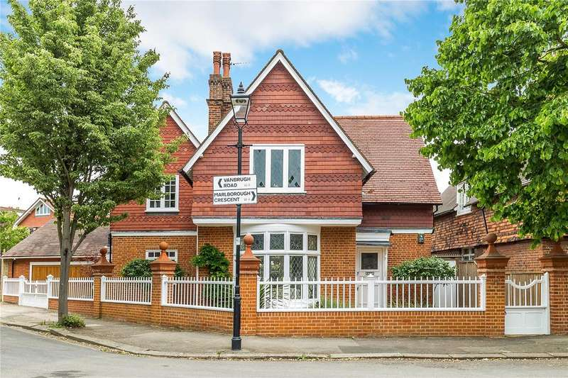 5 Bedrooms Detached House for sale in Marlborough Crescent, Bedford Park, Chiswick, London, W4