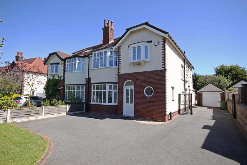 4 Bedrooms Semi Detached House for sale in Blundell Drive, Hillside, Southport, PR8 4RE