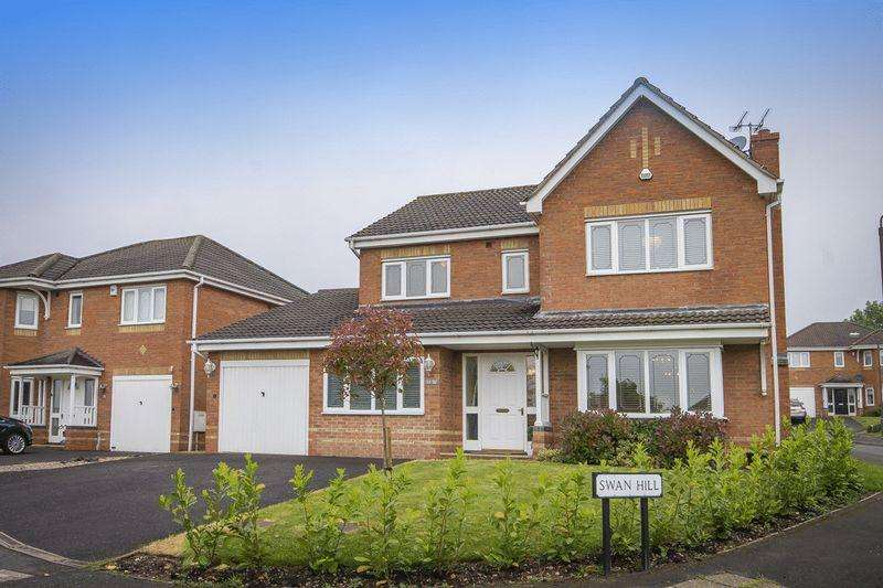 4 Bedrooms Detached House for sale in SWAN HILL, MICKLEOVER