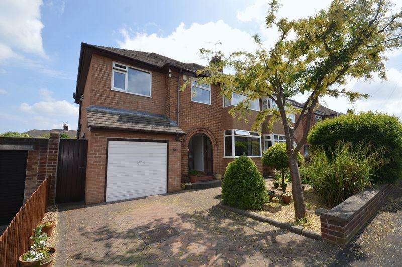 4 Bedrooms Semi Detached House for sale in Neale Drive, Greasby