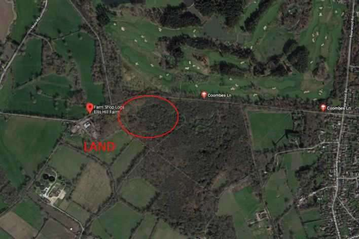 Land Commercial for sale in Coombes Lane, Arborfield, Wokingham