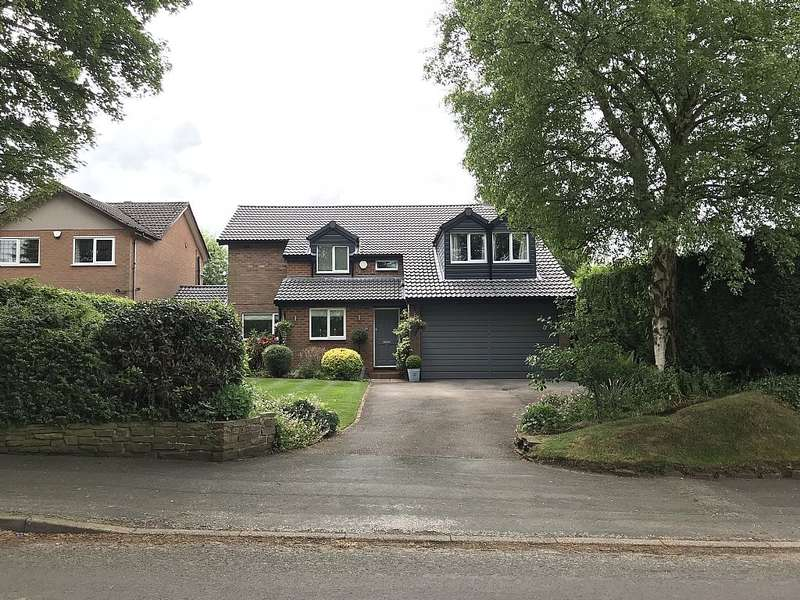 5 Bedrooms Detached House for sale in Church Lane, Gawsworth, Macclesfield, Cheshire, SK11 9QY