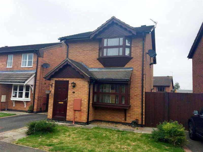 3 Bedrooms Detached House for sale in Ascot Drive, Grantham