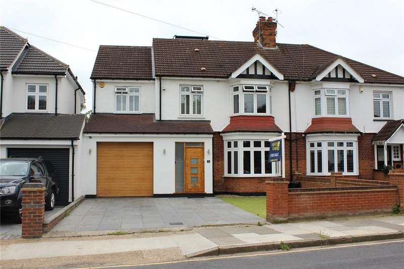 5 Bedrooms Semi Detached House for sale in Deyncourt Gardens, Upminster, RM14