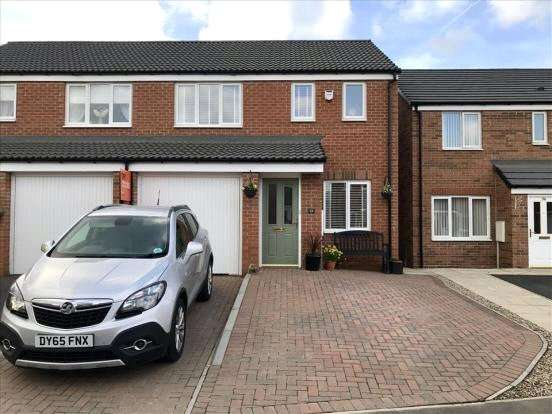 3 Bedrooms Semi Detached House for sale in Grange Way, Bowburn, DH6