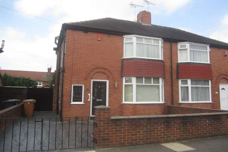 3 Bedrooms Semi Detached House for sale in Davenport Avenue, Crewe, CW2