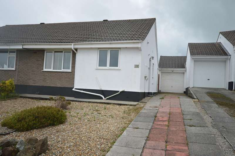 2 Bedrooms Semi Detached Bungalow for sale in Roseland Gardens, Redruth TR15