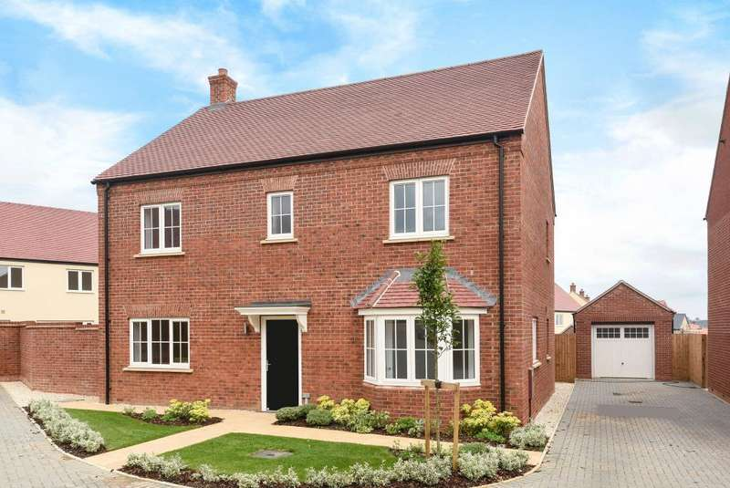 4 Bedrooms Detached House for sale in Plot 240, Cherry Fields, OX16