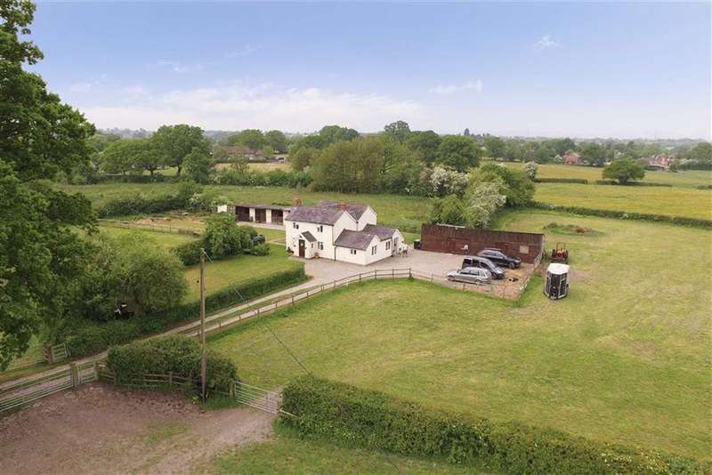 3 Bedrooms Detached House for sale in Greenhill Bank, Criftins, SY12