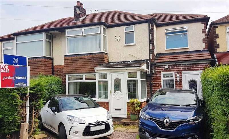 4 Bedrooms Semi Detached House for sale in Richmond Avenue, Handforth