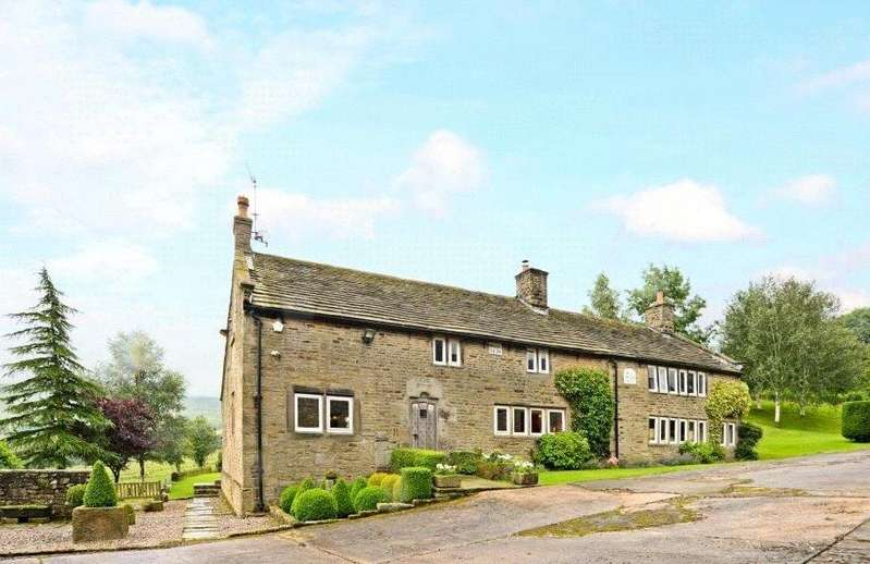 5 Bedrooms Detached House for sale in Chisworth, Glossop