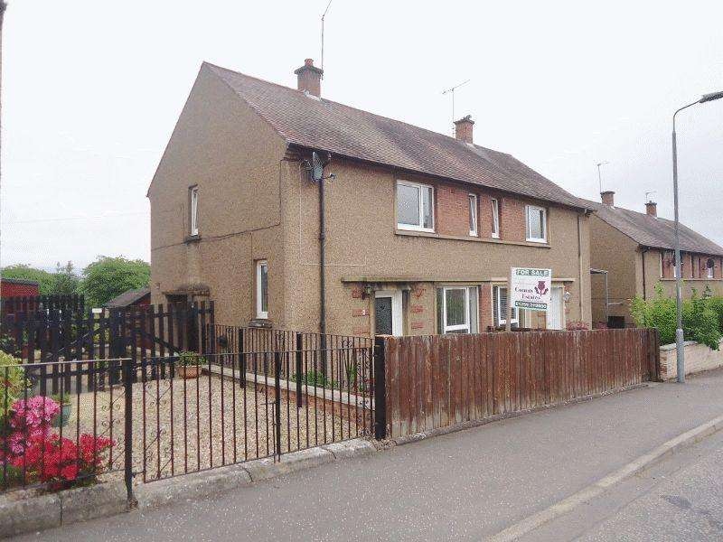 2 Bedrooms Semi Detached House for sale in Woodside Terrace, Clackmannan