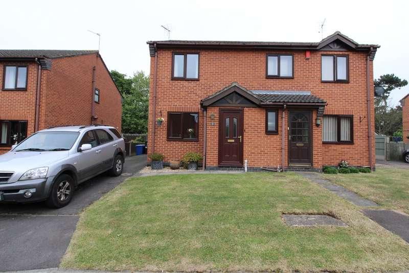 2 Bedrooms Semi Detached House for sale in Elizabeth Close, Gainsborough DN21