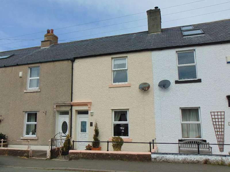 2 Bedrooms Terraced House for sale in 8 New Row, Oughterside, Wigton, CA7 2PR