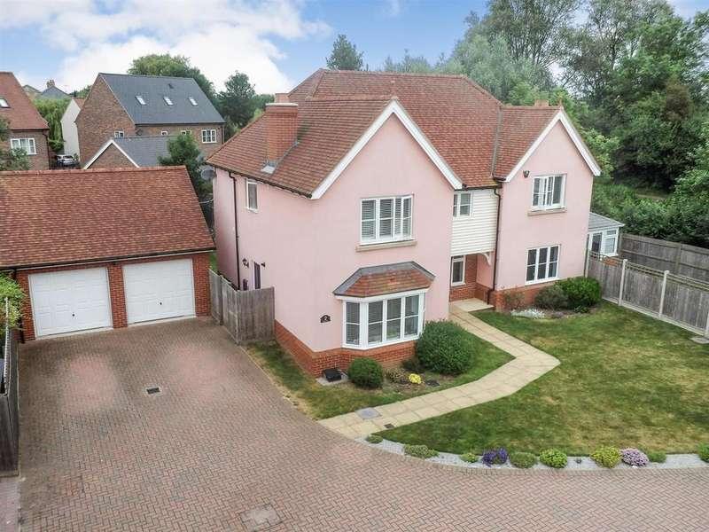 5 Bedrooms Detached House for sale in Hering Drive, Heybridge,
