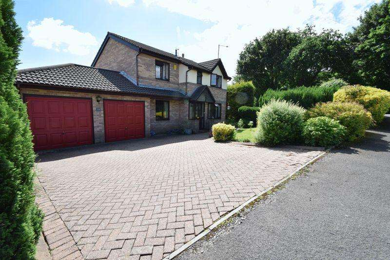 4 Bedrooms Detached House for sale in Ashleigh Court, Henllys