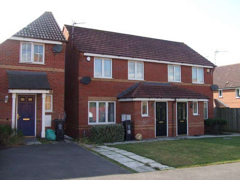2 Bedrooms Semi Detached House for sale in Tyburn Close, Bradgate Heights, Leicester, Leicestershire, LE3 9PZ
