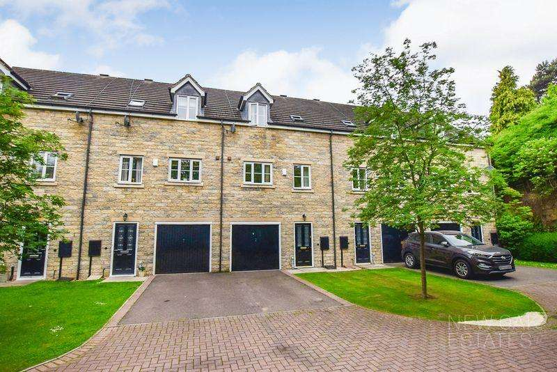 3 Bedrooms Town House for sale in Staunton Close, Chesterfield