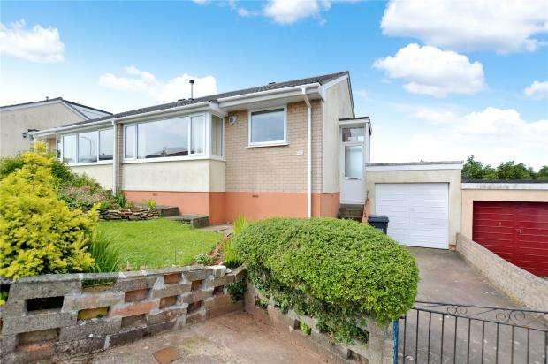 2 Bedrooms Semi Detached Bungalow for sale in Windmill Close, Brixham, Devon