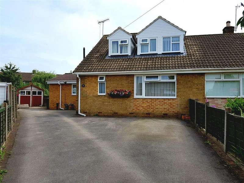 4 Bedrooms Semi Detached Bungalow for sale in West Avenue, Hilton, Derby