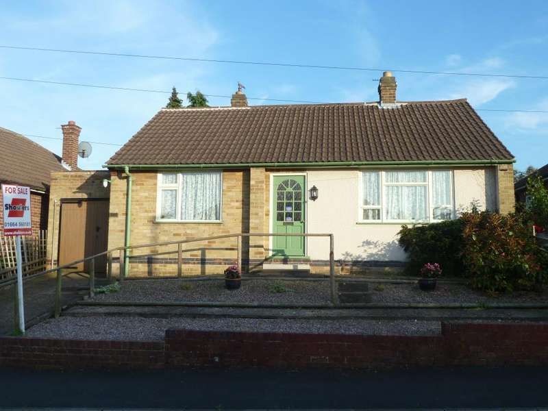 2 Bedrooms Detached Bungalow for sale in Beaconsfield Road, Melton Mowbray