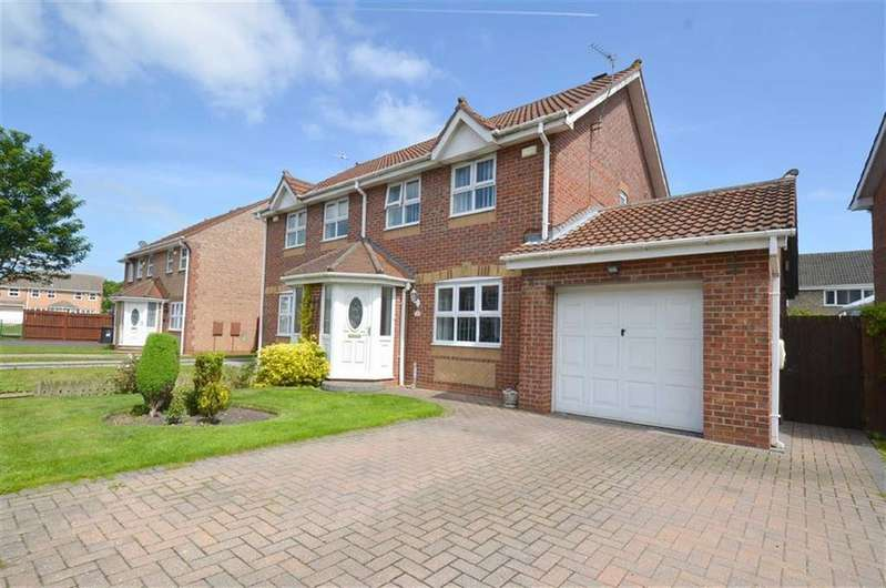3 Bedrooms Semi Detached House for sale in Pelton