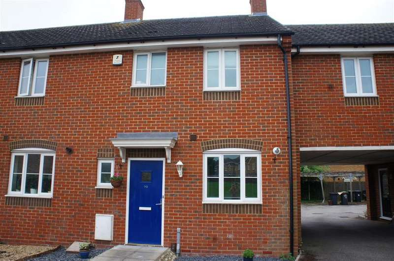 3 Bedrooms Terraced House for sale in Lincroft, Cranfield, Bedford