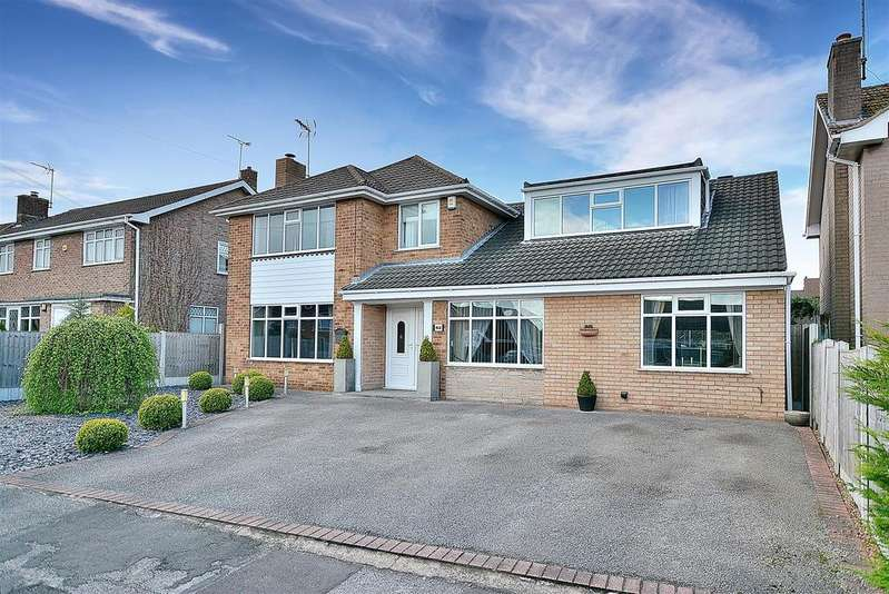 4 Bedrooms Detached House for sale in Greendale Avenue, Edwinstowe
