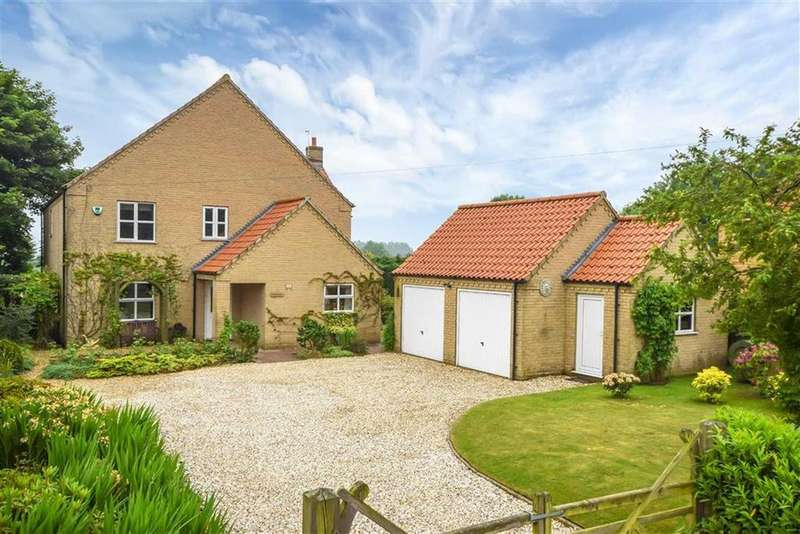 4 Bedrooms Detached House for sale in High Street, Caenby, Market Rasen, Lincolnshire