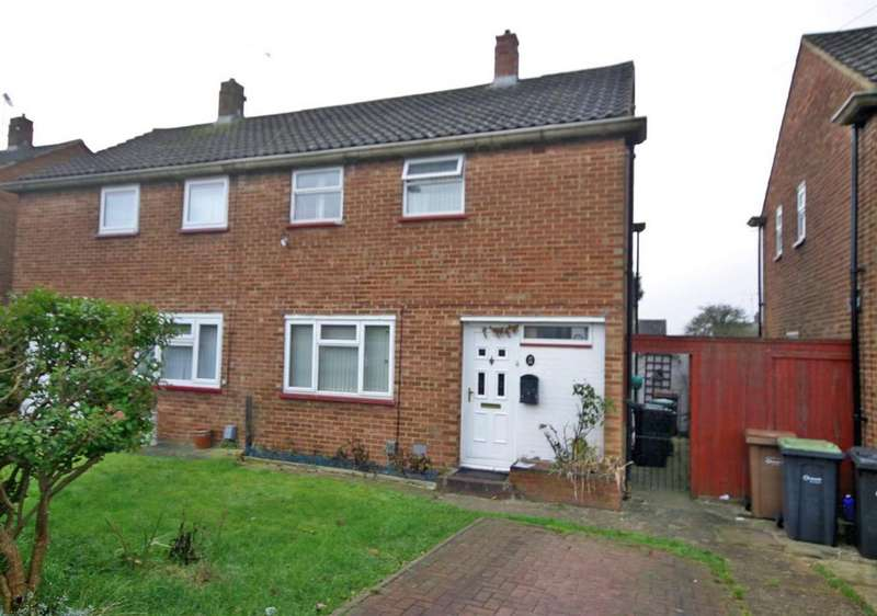 2 Bedrooms Semi Detached House for sale in Wodecroft Road, Runfold, Luton