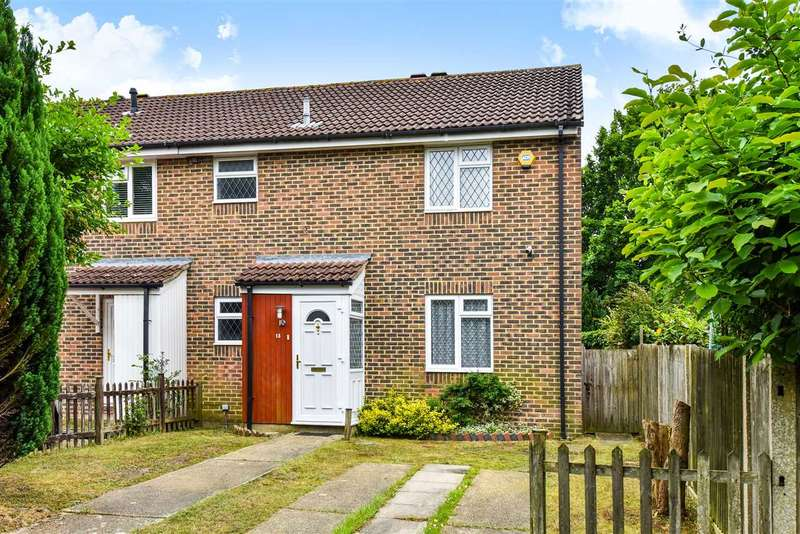 4 Bedrooms End Of Terrace House for sale in Evenlode Way, Sandhurst