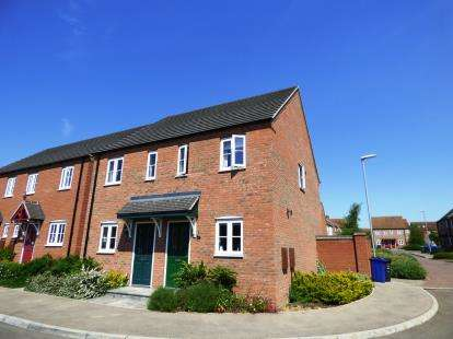 2 Bedrooms Semi Detached House for sale in Hancock Drive, Bardney, Lincoln, Lincolnshire