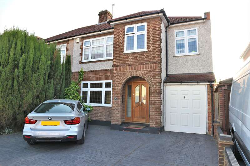 4 Bedrooms Semi Detached House for sale in Swanton Road, Northumberland Heath, Kent, DA8 1LP