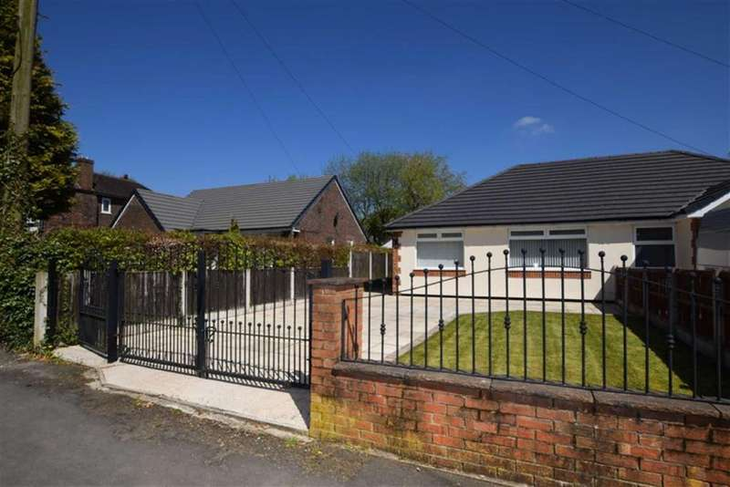 2 Bedrooms Semi Detached Bungalow for sale in Old Road, Mottram