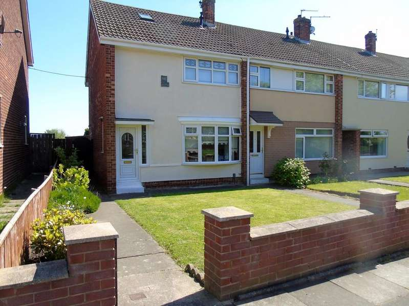 2 Bedrooms Semi Detached House for sale in Clavering Road, Hartlepool