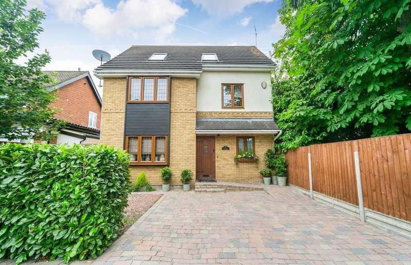 4 Bedrooms Detached House for sale in Westbury Lane, Buckhurst Hill