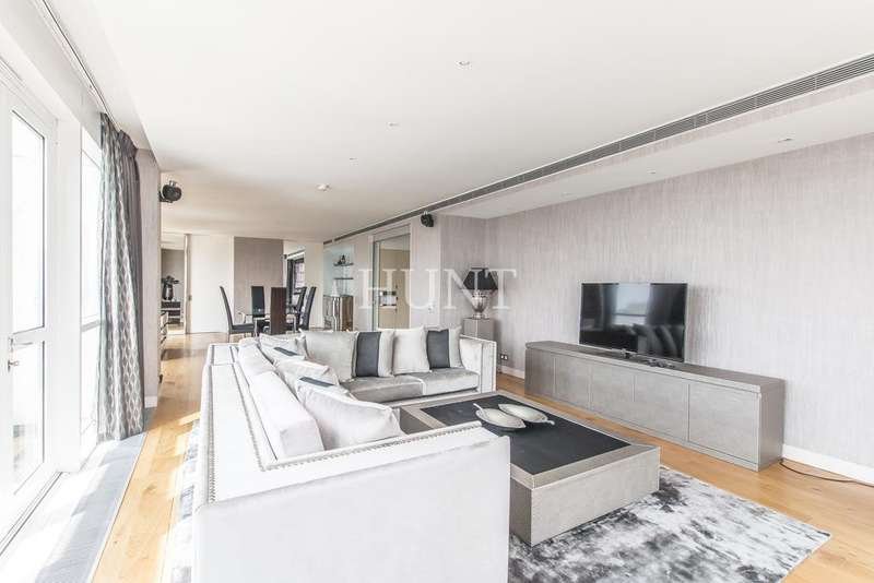 3 Bedrooms Penthouse Flat for sale in Eaton House, Canary Riverside, Canary Wharf, London E14
